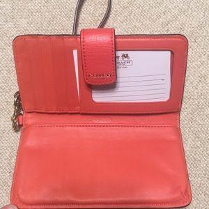 Coach wallet- light pink brand new
